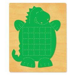 Ellison SureCut Die - Activity Card, Dinosaur - Extra Large