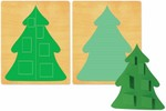 Ellison SureCut Die - Advent Tree 3-D (2 Die Design) - Extra Large