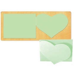 Ellison SureCut Die - Card, Fold-a-Heart - Double Cut