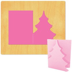 Ellison SureCut Die - Card, Fold-a-Tree - Extra Large