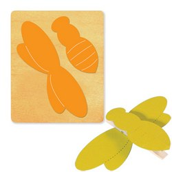 Ellison SureCut Die - Clothespin Critter, Bee - Large