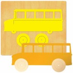 Ellison SureCut Die - School Bus & Wheels - Extra Large