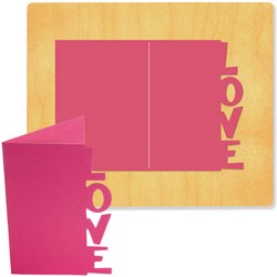 Ellison SureCut Die - Card, Love - Extra Large