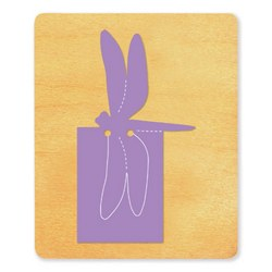 Ellison SureCut Die - Bookmark, Dragonfly - Large
