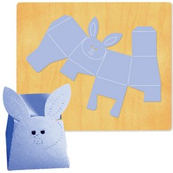 Ellison SureCut Die - Box #41 (Rabbit) - Extra Large