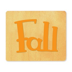 Ellison SureCut Die - Word, Fall - Large