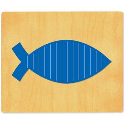 Ellison SureCut Die - Fish, Weaving - Extra Large