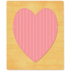 Ellison SureCut Die - Heart, Weaving - Extra Large