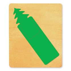 Ellison SureCut Die - Bookmark, Pine Tree - Large