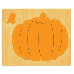 Ellison SureCut Die - Lacing Pumpkin - Extra Large