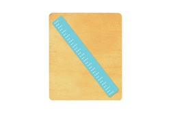 Ellison SureCut Die - Ruler, 15 cm to Scale - Large