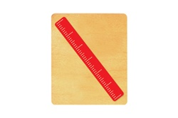 "Ellison SureCut Die - Ruler, 6"" to Scale - Large"