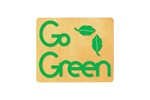 Ellison SureCut Die - Words, Go Green w/Leaves - Large