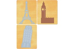 Ellison SureCut Die Set - European Landmarks (3 Die Set) - Large