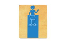 Ellison SureCut Die - Bookmark, Boy - Large