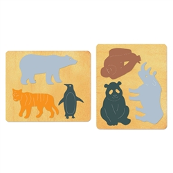 Ellison SureCut Die Set - Endangered Animals (2 die set) - Large