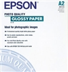 Epson S041123 Photo Quality Glossy Paper, 38 lbs., 16-1/2 x 23-1/2, 20 Sheets/Pack
