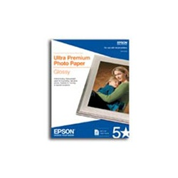 "Epson S041143 Photo Paper Glossy 13"" x 19"", 20 Sheets/Pack"