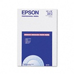 "Epson S041327 Premium Photo Paper Semi-gloss 13"" x 19"" 20 sheets"