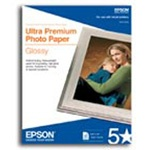 "Epson S041465 Premium Photo Paper Glossy 8"" x 10"" Borderless"