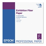 "Epson S045039 Exhibition Fiber Paper 17"" x 22"" 25 sheets"