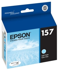Epson 157 (T157520) Light Cyan Ink for Stylus Photo R3000
