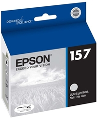 Epson 157 (T157920) Light Light Black Ink for Stylus Photo R3000