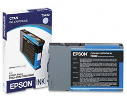 Epson T543200 110ml Cyan Ink for 4000, 7600 and 9600