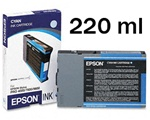 Epson T544200 220ml Cyan Ink for 4000, 7600 and 9600