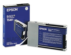 Epson T545100 110ml Photo Black Photographic Dye Cartridge for 4000, 7600 and 9600