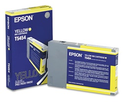 Epson T545400 110ml Yellow Photographic Dye Cartridge for 4000, 7600 and 9600