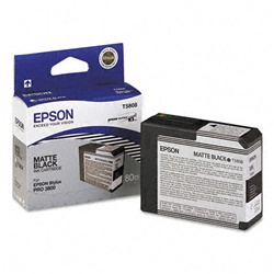 Epson T580800 Matte Black Ink for 3880 and 3800