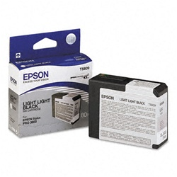 Epson T580900 Light Light Black Ink for 3880 and 3800