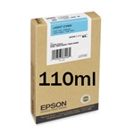 Epson T602500 Light Cyan 110ml Ink Cartridge for 7800,7880,980,9880