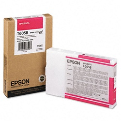 Epson T605B00 110ml Magenta Ink Cartridge for 4800