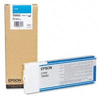 Epson T606200 220 ml Cyan Ink Cartridge for 4880 and 4800