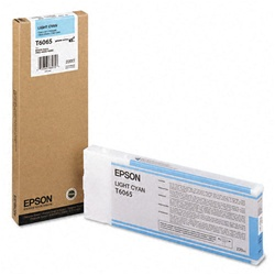 Epson T606500 220 ml Light Cyan Ink for 4880 and 4800