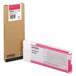 Epson T606B00 220ml Magenta Ink Cartridge for 4800