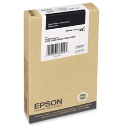 Epson T612800 220ml Matte Black Ink Cartridge for 7800,7880,9800 and 9880