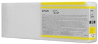 Epson T636400 700ml Yellow Ink for 7900, 9900, 7890 and 9890