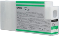 Epson T642B00 150ml Medium Green Ink Cartridge for 7900 and 9900