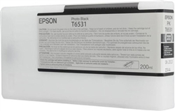 Epson T653100 (T6531) 200ml Photo Black Ink for 4900
