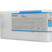 Epson T653200 200ml Cyan Ink for 4900