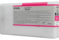 Epson T653300 200ml Vivid Magenta Ink Cartridge for 4900