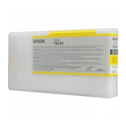 Epson T653400 200ml Yellow Ink for 4900