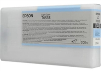 Epson T653500 200ml Light Cyan Ink for 4900