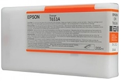 Epson T653A00 200ml Orange Ink for 4900
