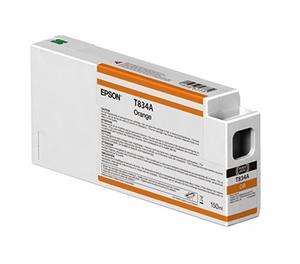 Epson T834A00 150ml Orange UltraChrome HDX Ink