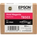 Epson T8503 80ml Vivid Magenta Ink for SureColor P800