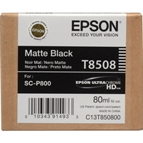 Epson T8508 80ml Matte Black Ink for SureColor P800
